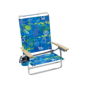 RIO Beach Classic 5-Position Lay-Flat Beach Chair